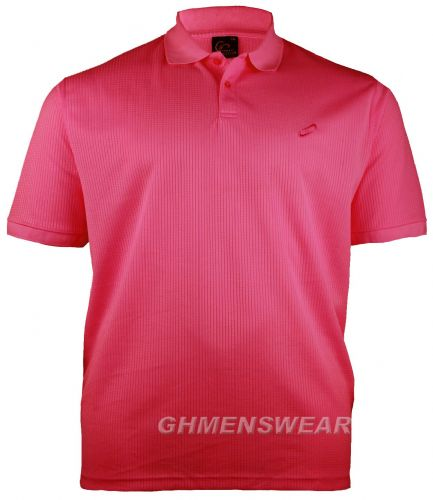 Mesh Polo Shirt DEEP PINK